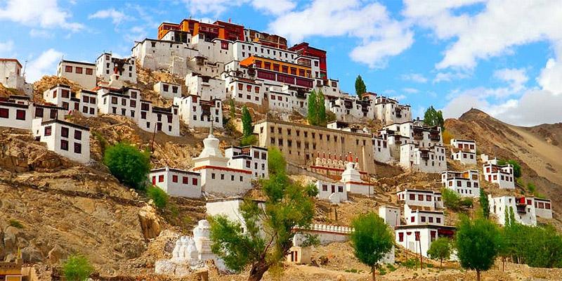 Ladakh in northern India
