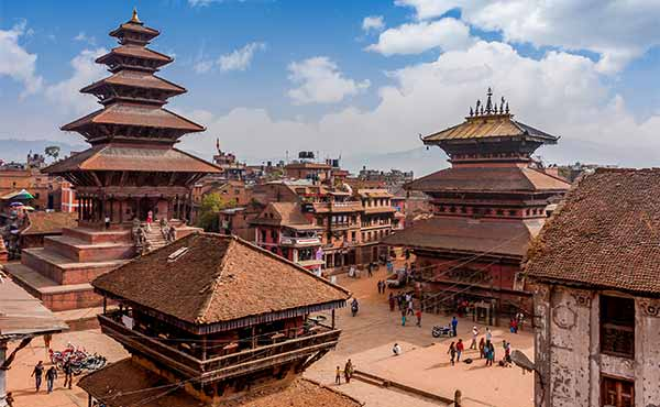 Interesting architecture of Bhaktapur temple complex